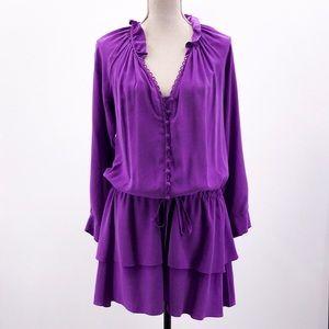 Rebecca Taylor 100% Silk Dress
